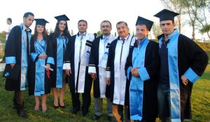With our first graduates - 2011