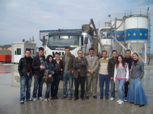 Site visits with our CE students - 2009