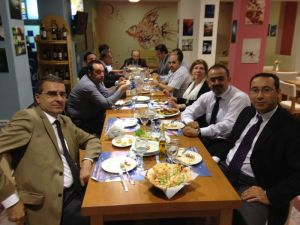 BCCCE_Dinner with guest Professors