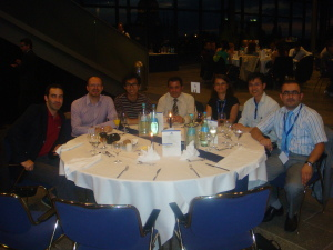 With Colleagues from Italy, Turkey, Egypt and France.
