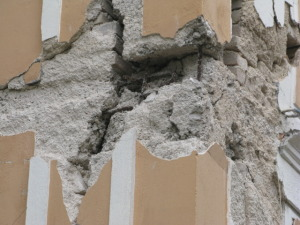 Damages on RC buildings