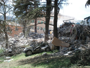 Damages from L'Aquila Earthquake - 2009