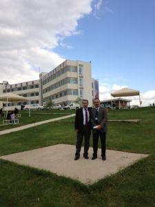 With Prof. Latif