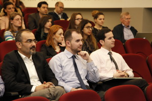 Wİth Colleagues during the technical session